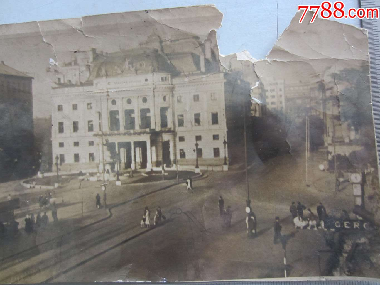 街道风景建筑(老照片)