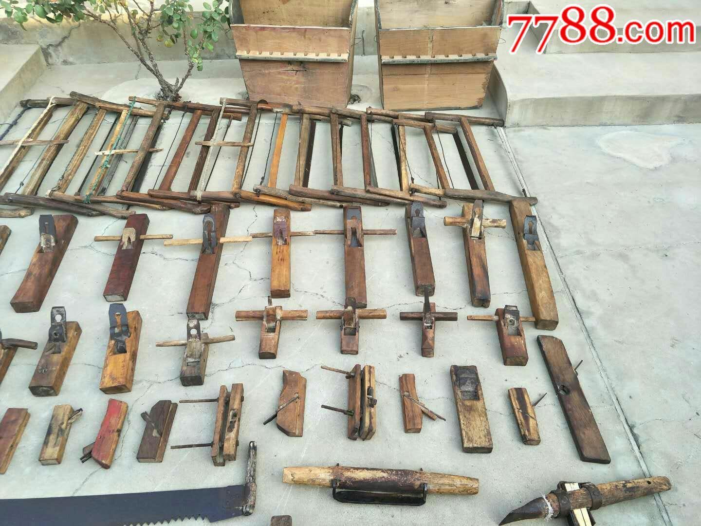 老木工工具108件的.图片