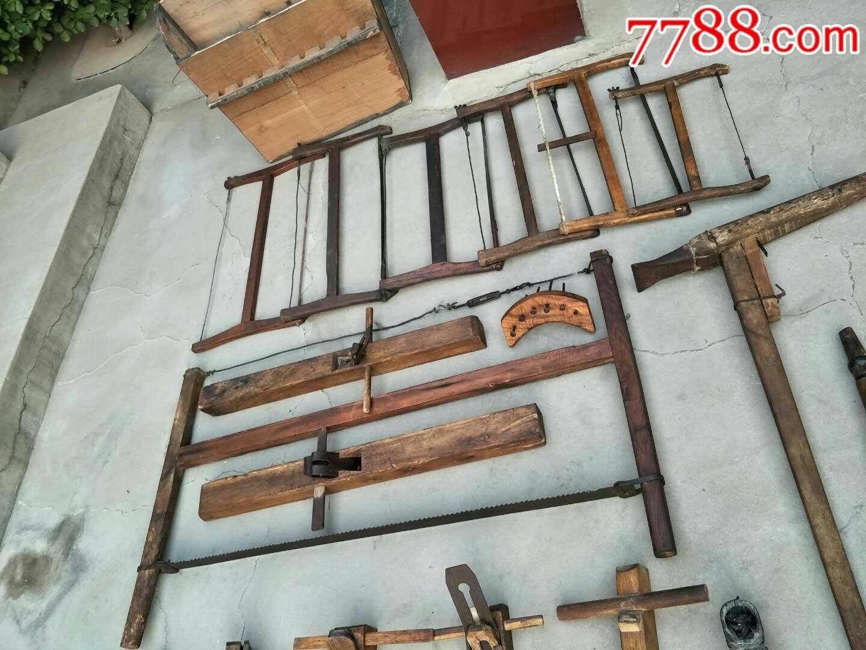 老木工工具38件的.图片