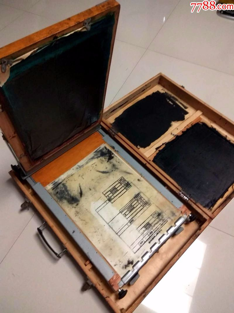 文化牌油印机七一一型手动印刷机100ml塑料分装瓶图片