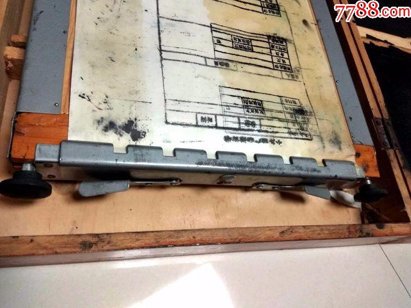 奖牌牌油印机七一一型文化印刷机腐蚀手动图片