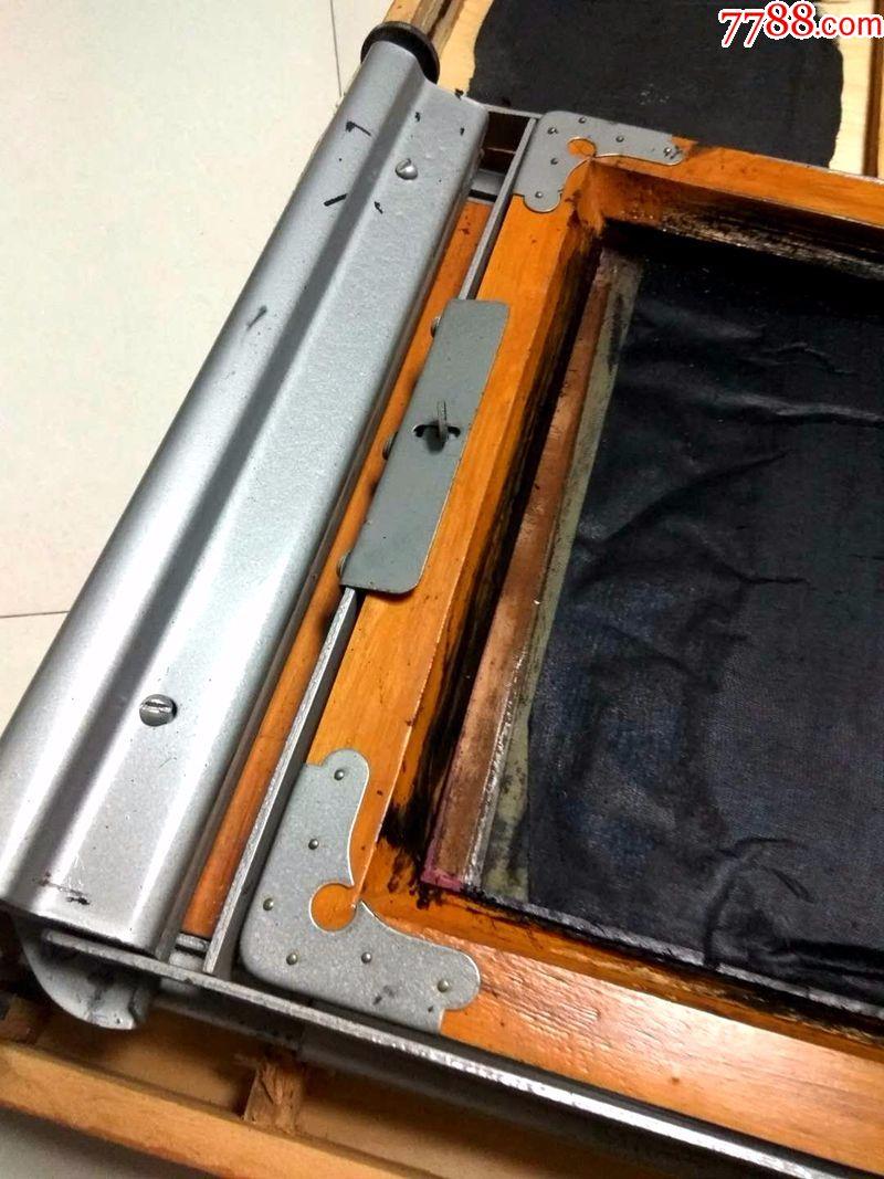 陶瓷牌油印机七一一型摆件印刷机手动仿古文化图片
