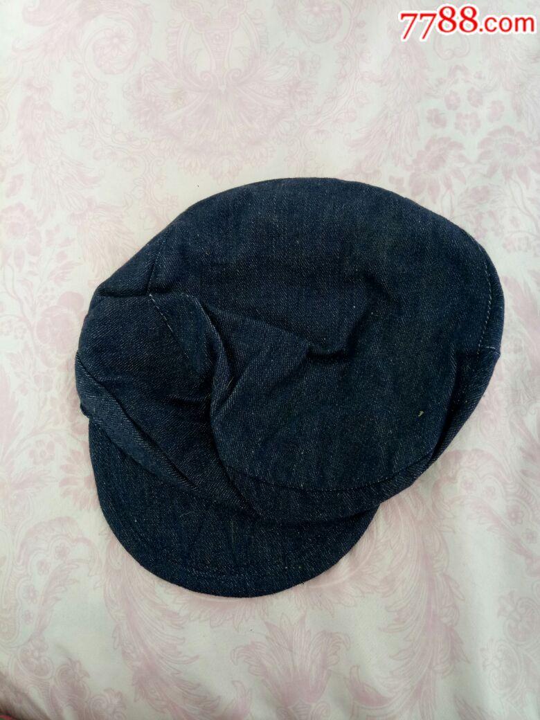 劳动布帽子图片