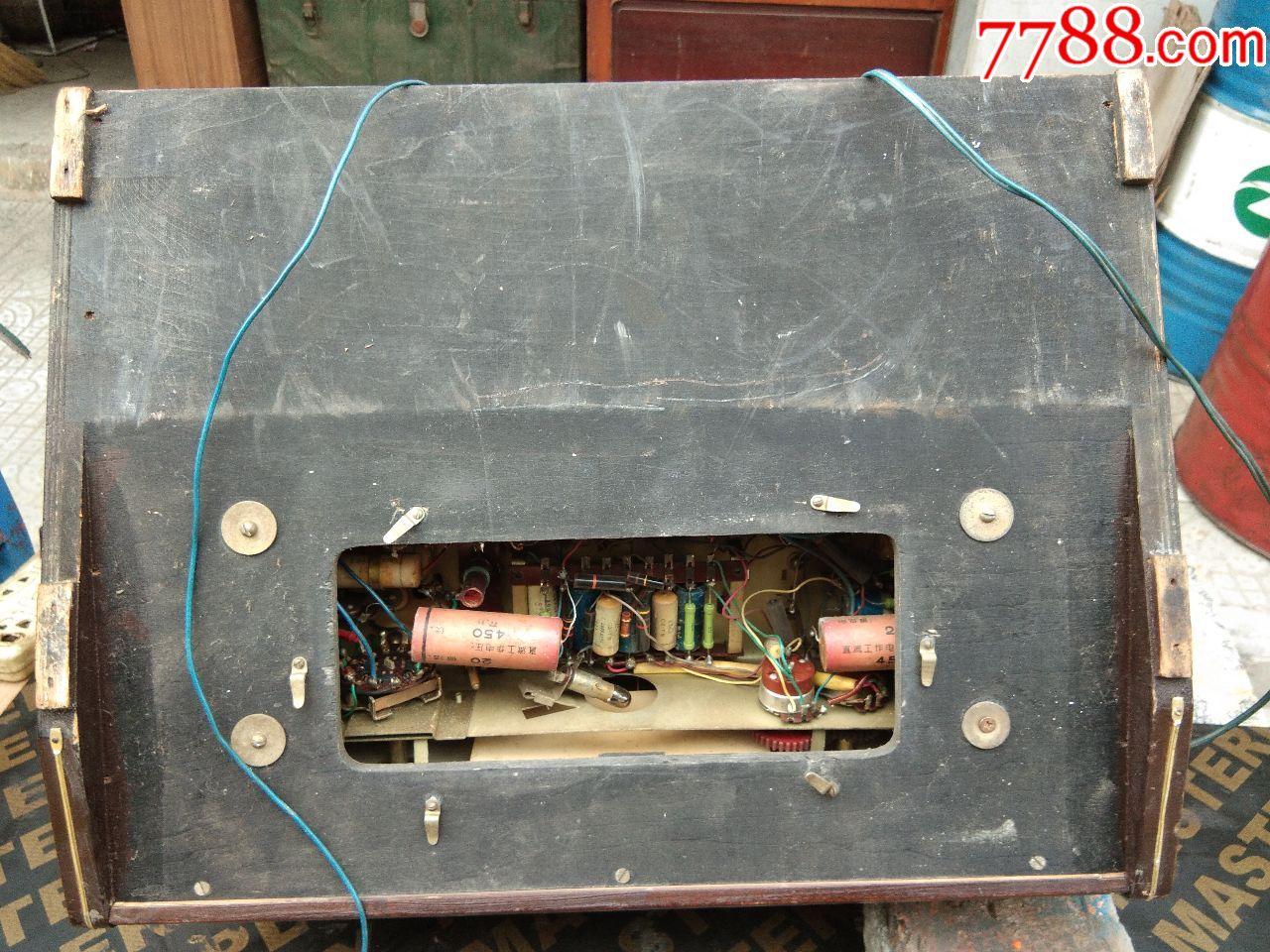 凯歌4262型电子管收音.电唱两用机