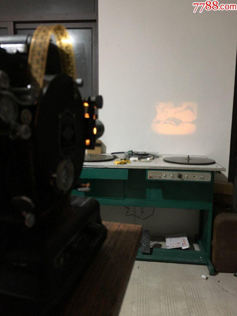 1928年美国古董老式柯达bkodak16毫米电影机放映机图片