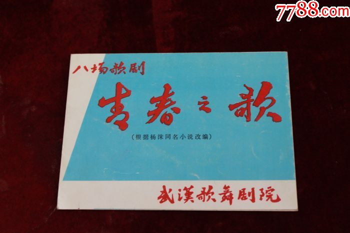 武汉歌舞剧院==八场歌剧:青春之歌