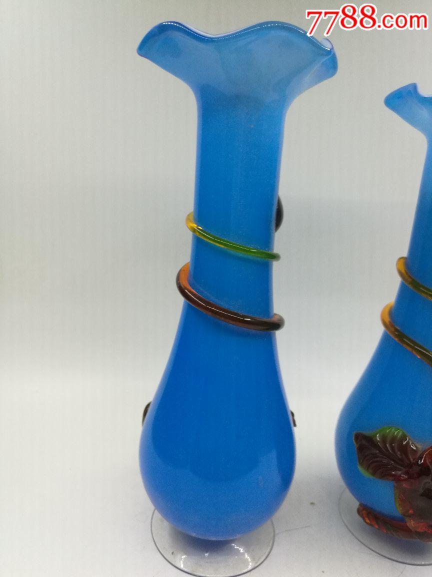 【图】70-80年代多彩琉璃花瓶_孤独的蜗牛杂货店