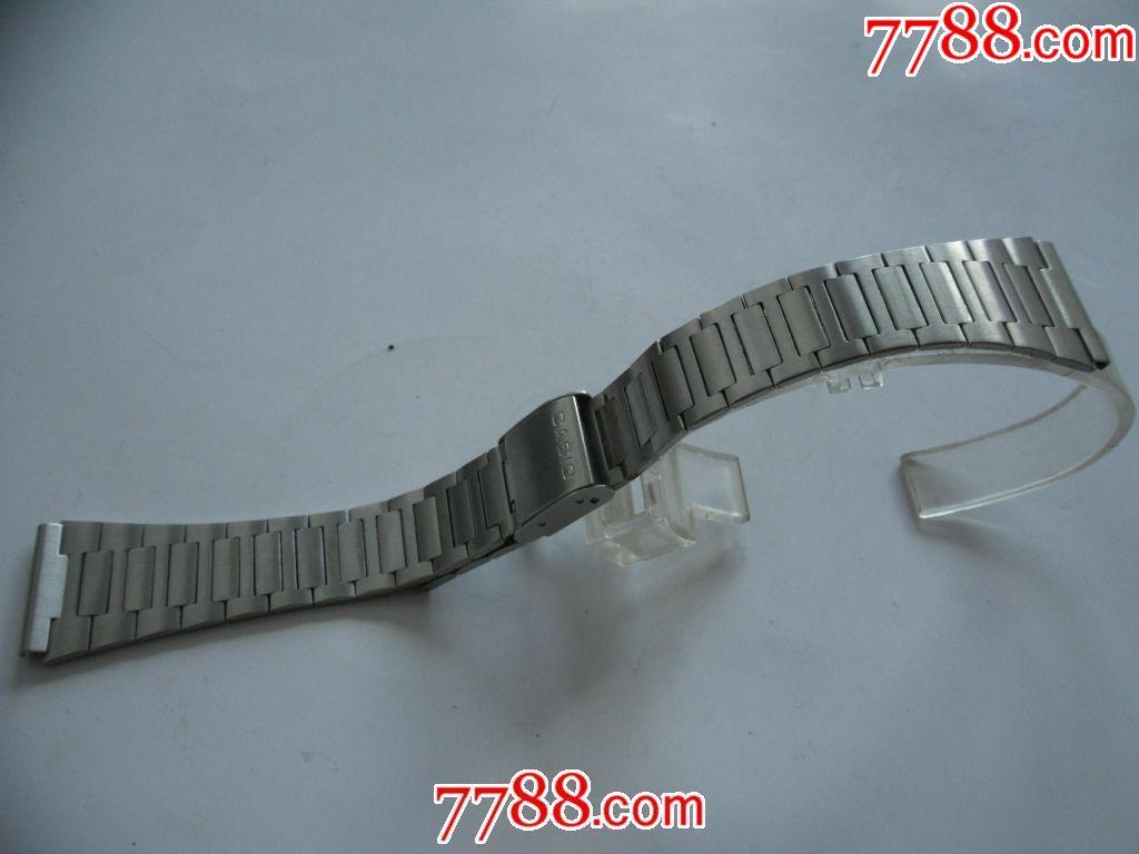 卡西欧手表5118说明_日本正宗卡西欧表拆下的还新的卡西欧20mm折叠古董老表带!