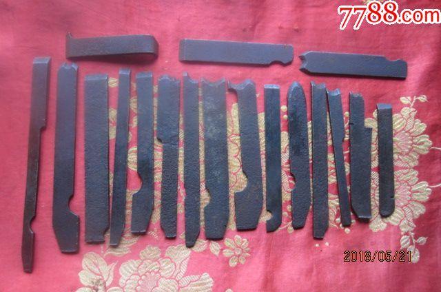 木工工具------一套18件各种花刨刃(可做刻刀)一共120图片