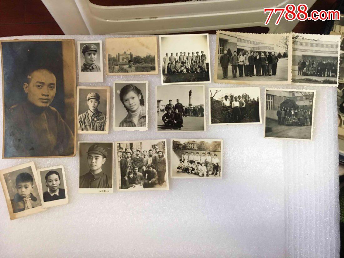 民国—五十年代*区首长家流出照片一批.四大本大大小小约一千张图片