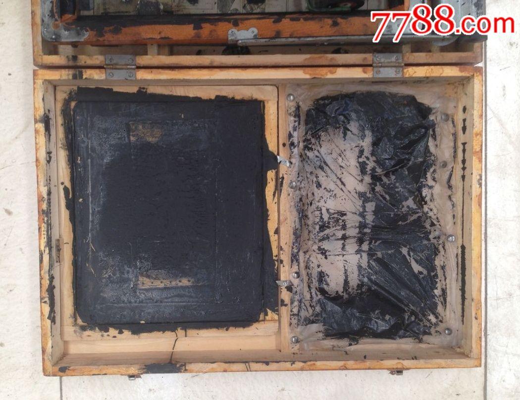 文化牌手动油印机n次贴盒图片