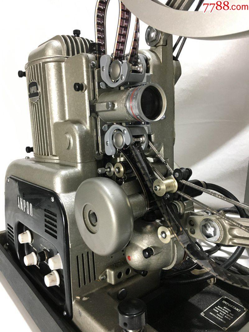 50年代英国16毫米大力ampro电子管电影机放映机图片