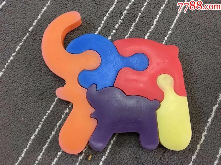 老玩具-中国玩具-动物拼图-塑料拼图-塑料积木_第10张_7788收藏__中国