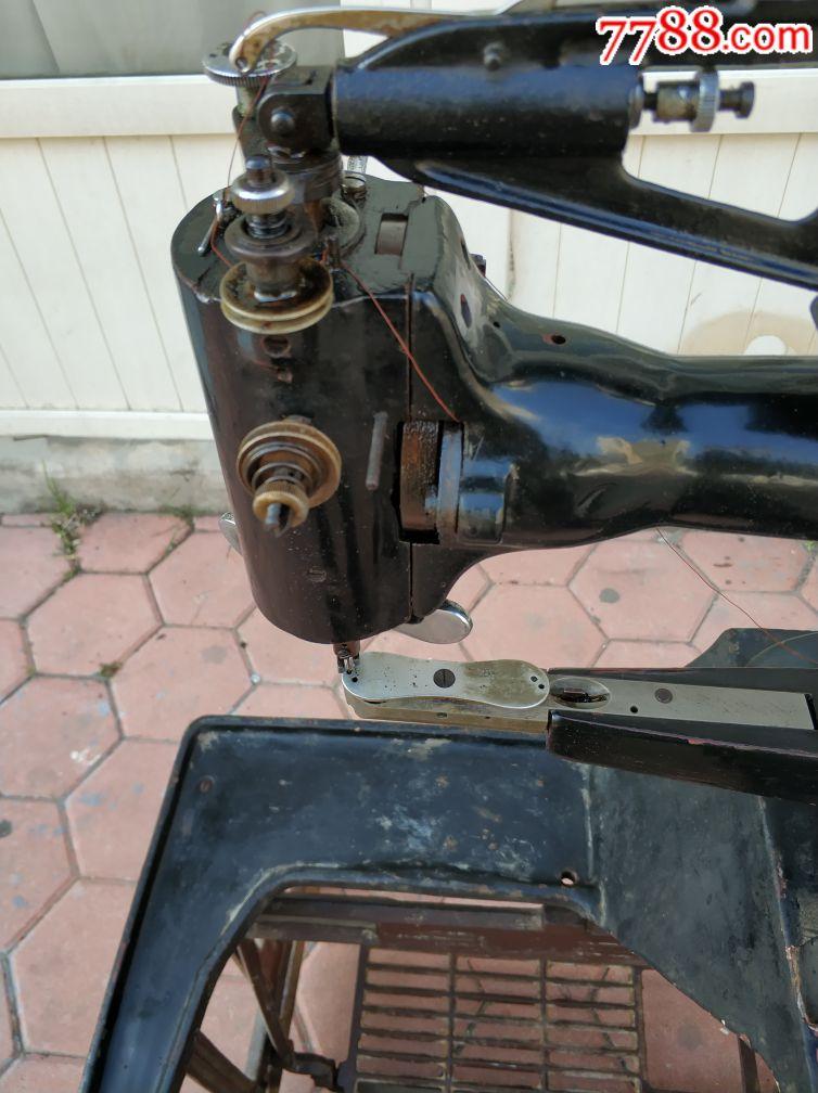 老式补鞋机皮革缝纫机