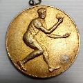 朝鲜第25届乒乓球锦标赛金牌(1980.4.12-13.铜镀金,直径55毫米)-¥160 元_体育运动徽章_7788网