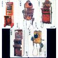 克罗地亚IC卡,电话机5全-¥25 元_电话IC卡_7788网