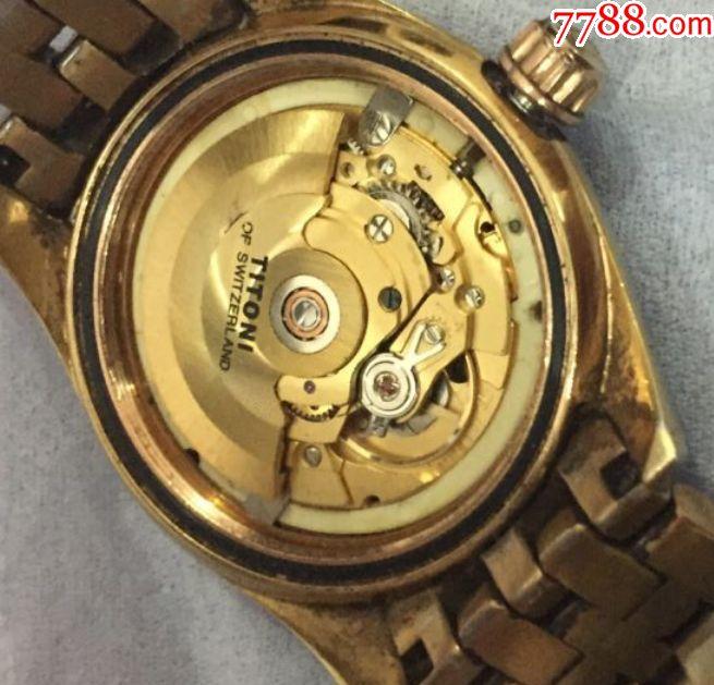 梅花瑞士手表图片
