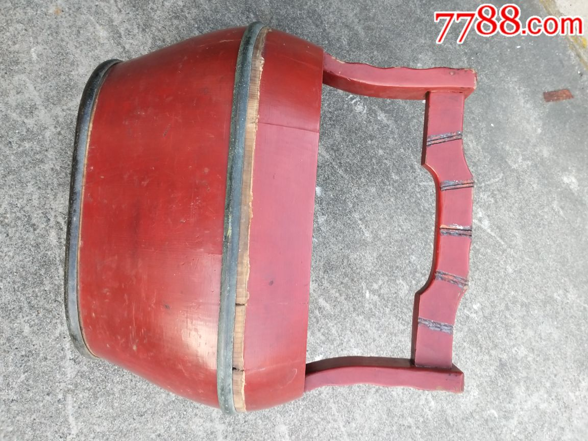 清代木水桶,手工制作