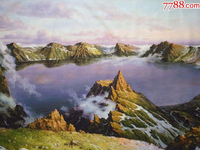 张及时老师油画风景