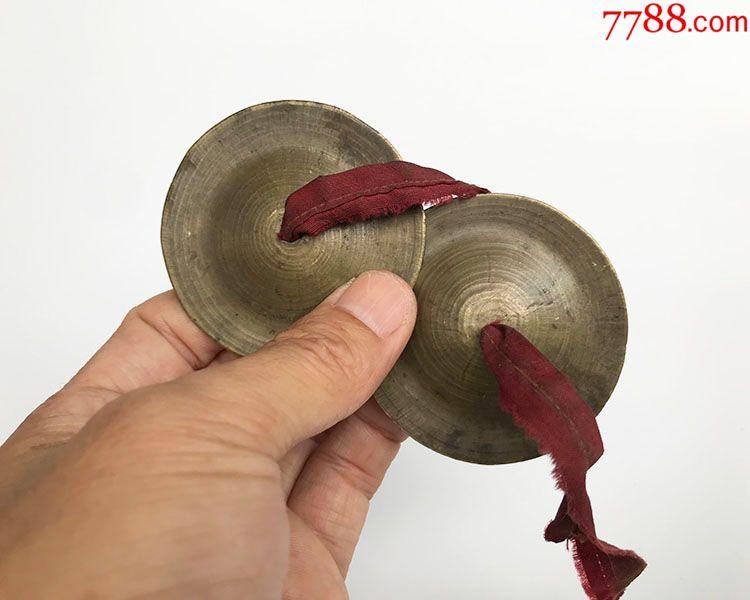 民清迷你小镲5.7cm咣咣镲铜杂件老视频袖珍铜乐器伊斯兰图片