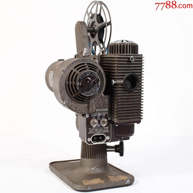 1940s怀旧老式复古古董电影机美国revere858mm二手放映机带箱图片