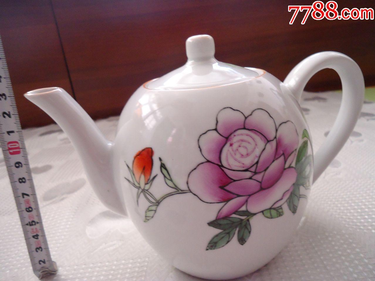 景德镇手绘茶壶