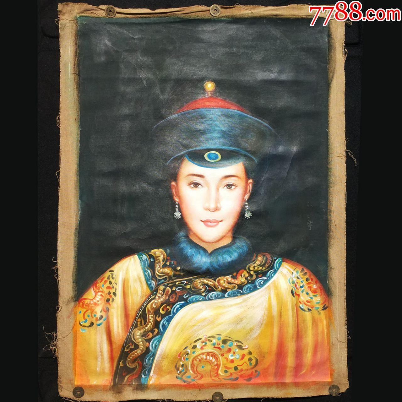 清朝孝庄太后的简介: 孝庄文皇后(1613年-1688年),博尔济吉特氏(意图片