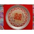 少见60年代铝制茶盘――商标【囍】中国制造-¥120 元_茶盘/茶案_7788网