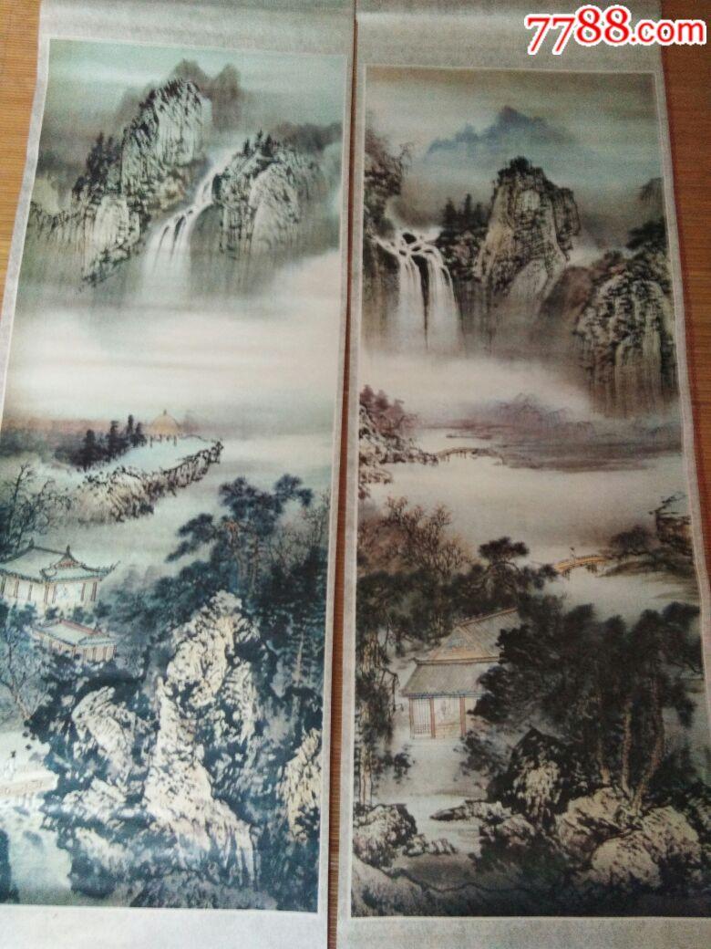 清溪雲烟图(se64251151)_