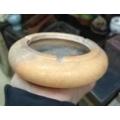 现代,一个红色大理石烟灰缸-¥12 元_烟灰缸_7788网