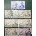 】西班牙邮票:航空票--胡安与C-30自转式旋翼机{1939}七高值销-¥12 元_欧洲邮票_7788网
