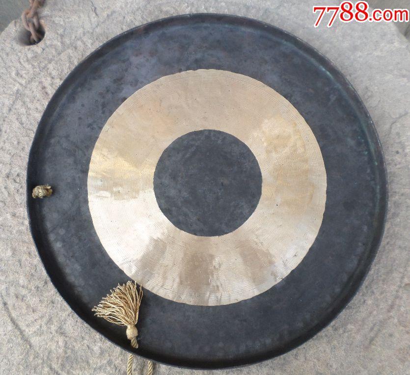 教程民族老铜器锣钹镲铜杂项敲击打视频纯铜手乐器古玩雷雕图片
