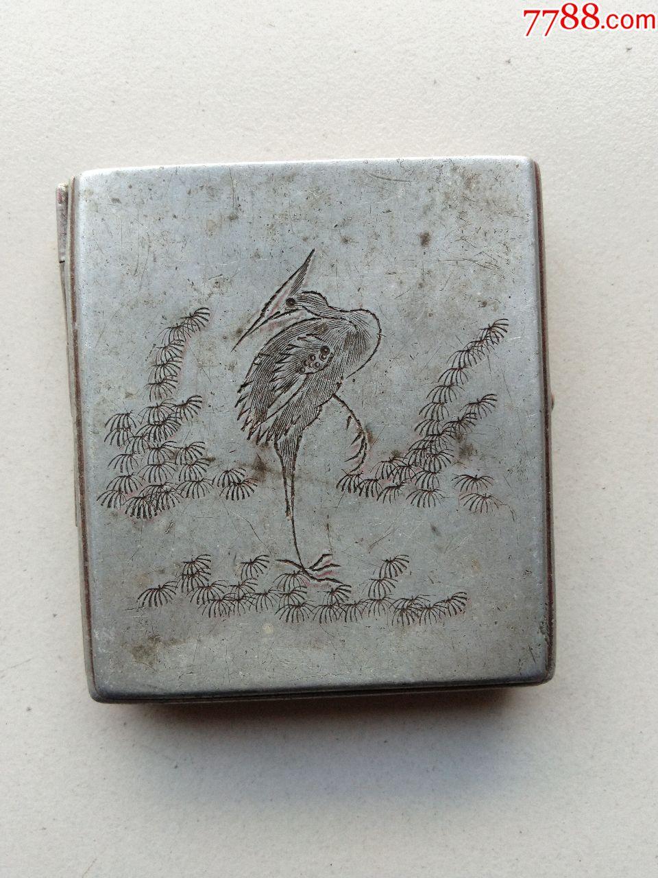 精美鹤鹿同春烟盒,中国传统吉祥图,?#20872;?#24847;美好(se64980489)_