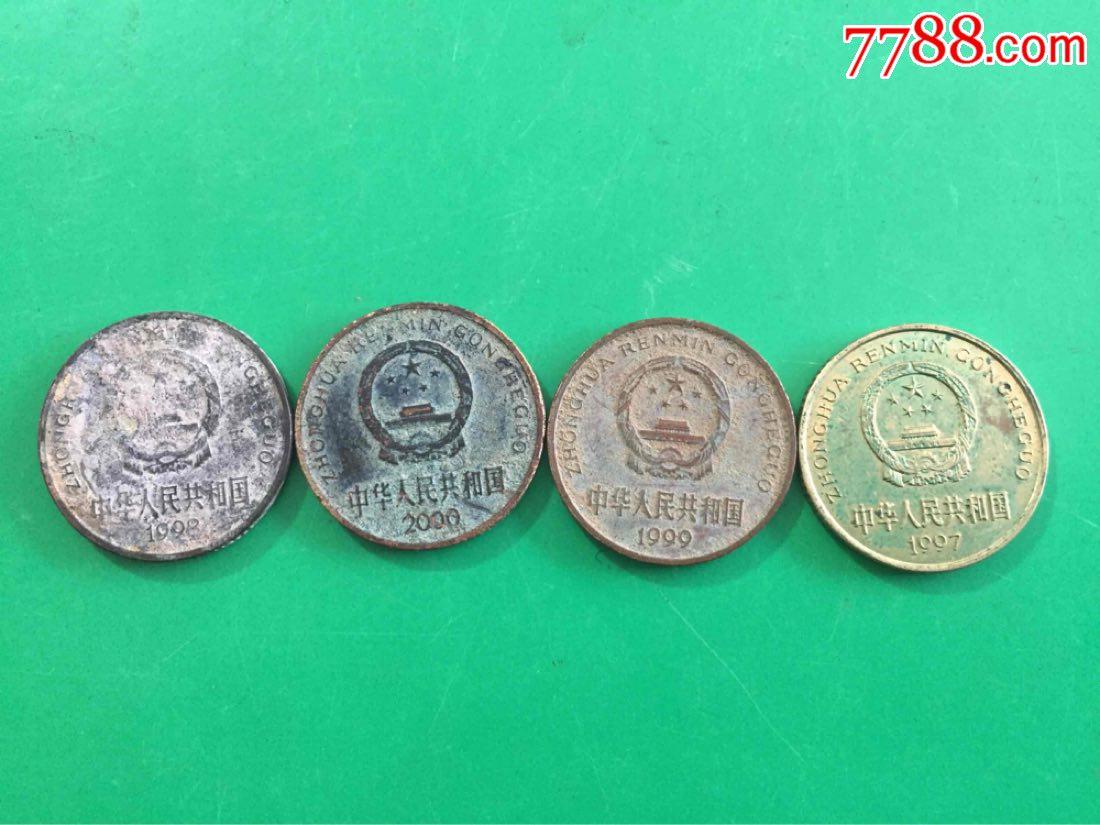 特殊梅花5角包浆币(se65317156)_