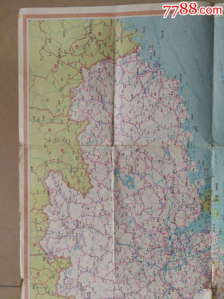 广东省旅游交通游览地图
