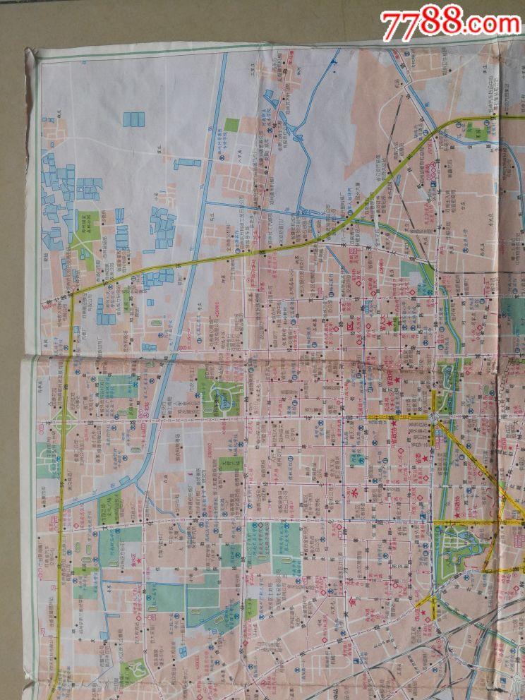 河南省,郑州旅游交通游览地图