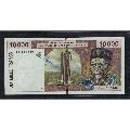 西非~多哥(字母T):2001年10000法郎/66�p尾/��物如�D/UNC(se66259208)_7788�f�商城__七七八八商品交易平�_(7788.com)