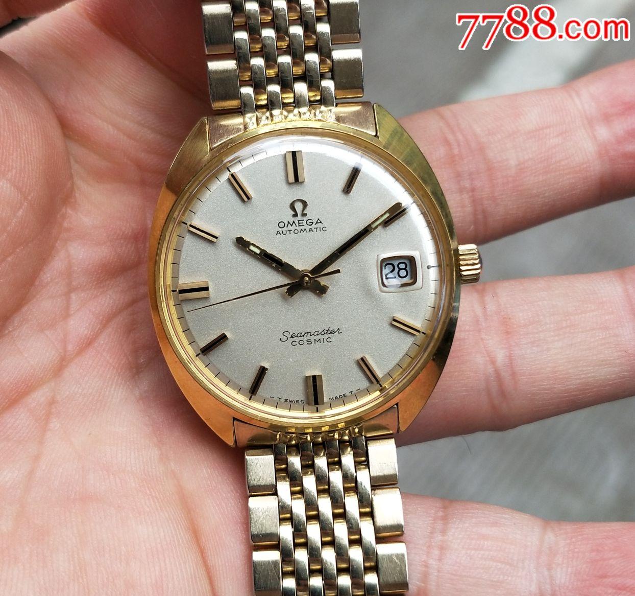 二手手表:瑞士古董欧米茄565包金原装带自动机械表(se66342294)_