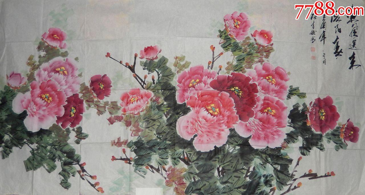 张吉俊(洛阳春)――画心纸本(se66712037)_