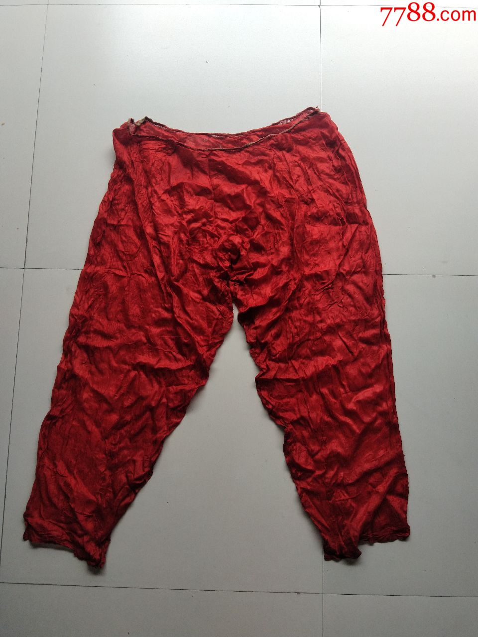 清代官服内袍素纱衣裤子(仅29克)(se67325572)_