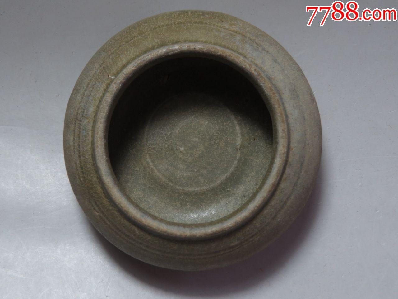 精品越窑弦纹青釉水盂(se67478769)_