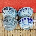 清代青花花卉纹碗4个(se67798194)_7788旧货商城__七七八八商品交易平台(www.0iy0.cn)