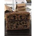 民国镏金贡盒-¥228 元_其他木艺品_7788网
