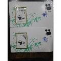 两张T106態猫小型张封-¥38 元_信封_7788网