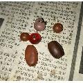 清代民国琉璃珠六颗-¥70 元_玛瑙_7788网