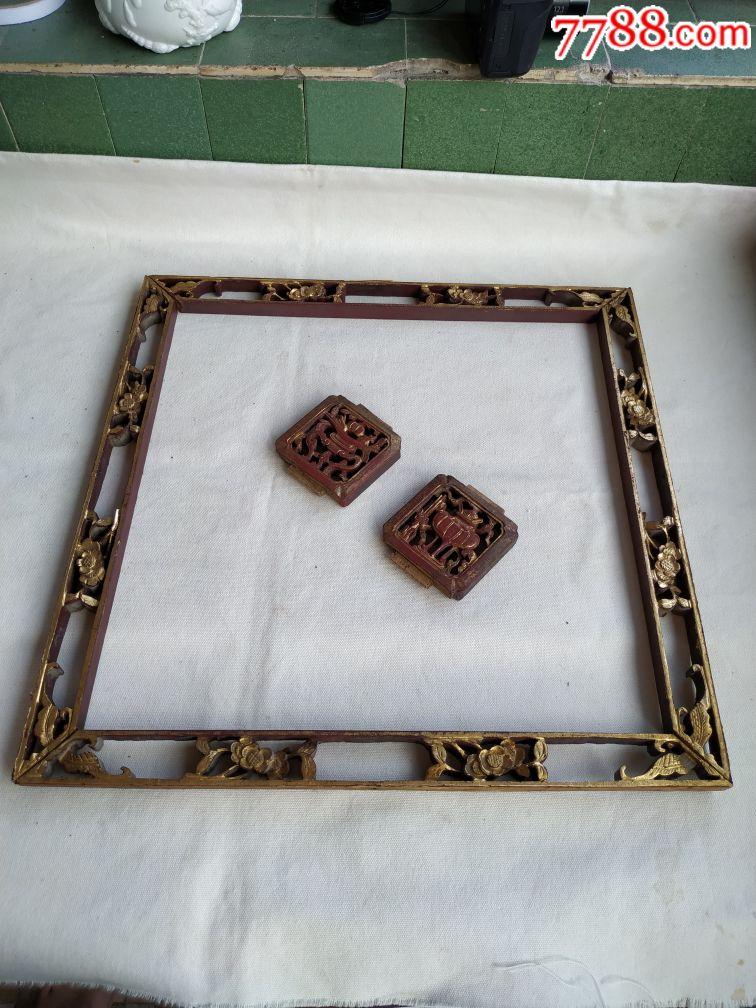 老木雕花板老花板民俗�雅f老物件(se68801253)_