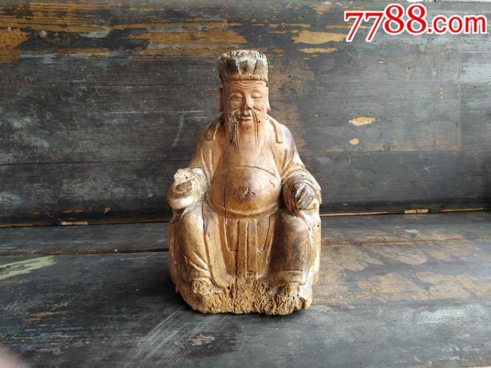 老木雕佛像老佛像(se68917182)_