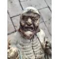清代木雕降龙罗汉-¥1,800 元_佛像/造像_7788网