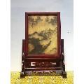 民国时期老红木玉石插屏,包浆浓厚品相好,收藏佳品-¥1,000 元_木?#32451;�_7788网