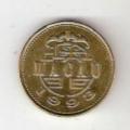 中國澳門硬幣銅幣5毫1993年葡萄牙殖民地時期(se70280300)_7788舊貨商城__七七八八商品交易平臺(7788.com)